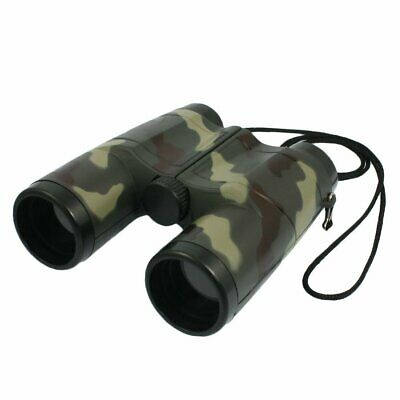 SODIAL(R) 4X 31mm Lens Camouflage Pattern Binocular Telescope For Child + Ne 3V3