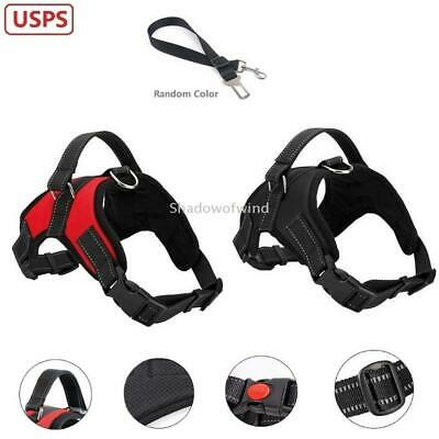 Dog Harness XL Large Non-pull Padded Adjustable Reflective Pet Outdoor Vest