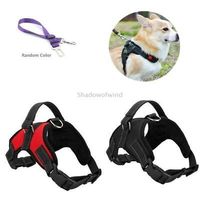Dog Harness Small No Pull Padded Adjustable Reflective Pet Outdoor Vest Harness