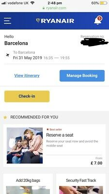 Champions League Flights To barcelona 31.05.19 From liverpool