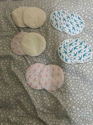 Used Reusable Bamboo Breast Pads