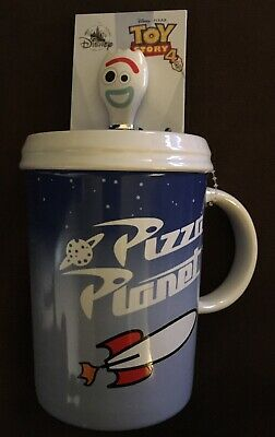 Disney Parks Toy Story 4 Pizza Planet/Forky Ceramic Cup Nwt