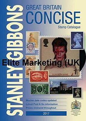 Stanley Gibbons Great Britain Concise Stamp Catalogue 2017 Postage