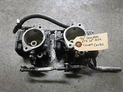 96+ Seadoo 717 Gtx Xp Gsx Dual Carbs Carburetors 270500252