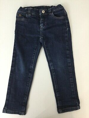 Gucci Boys Blue Denim Skinny Jeans Age 24 M Months Gucci Print On The Back
