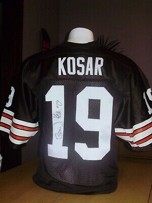 New NEW BERNIE KOSAR Cleveland Browns Men's M&N HOME Retro Jersey Baker  free shipping