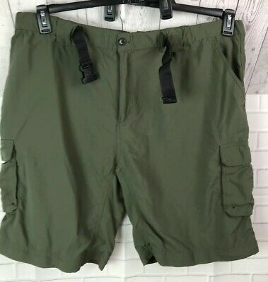 Men's Boy Scouts Of America BSA Olive Cargo Switchback Shorts Size 3XL