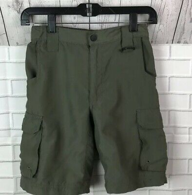 Boy Scouts Of America BSA Olive Cargo  Switchback Shorts Youth Medium