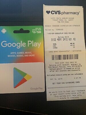 Google Play $440 Gift Card