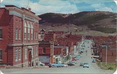 Colorado,Cripple Creek, Teller County Courthouse, Vintage Postcard   M117