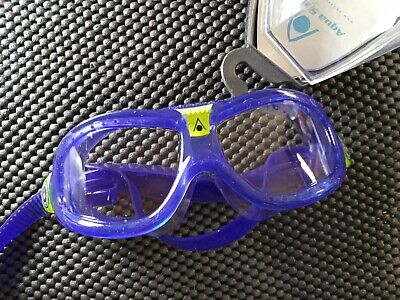 Aqua Sphere Seal Kid 2 - Clear Lens Violet Lime New Free ship