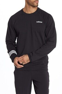 adidas Essentials Motion Pack Crew Neck Pullover Black Size Large
