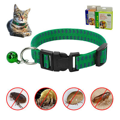 Flea & Tick Collar Kitten Cat or Dog Insect Repel Protection Effective Treatment