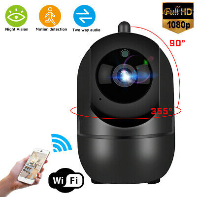 1080P Wired/Wireless IP Camera Smart Home Security CCTV IR Night Baby Monitor