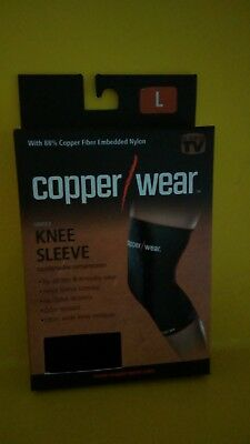 573a408dee NEW COPPER FIT Compression Knee Sleeve AS SEEN ON TV, US Seller ...
