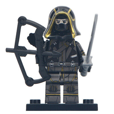 Lego Custom Ronin/Hawkeye v2 (Avengers: Endgame) MiniFigure - Marvel Toy Kids