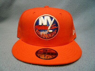 on sale 625e2 0a80d New Era 59fifty New York Islanders Solid Sz 7 5 8 BRAND NEW Fitted cap