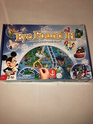 Disney 2015 Eye Found It Hidden Picture Game Great Condition Free Shipping