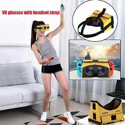 VR Glasses W/Headset Strap Set For Nintendo Switch Breath of the Wild LABO VR rt