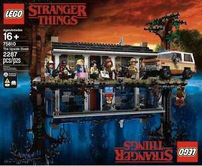 Lego 75810 Netflix Stranger Things Season 3 The Upside Down NEW EXCLUSIVE SEALED
