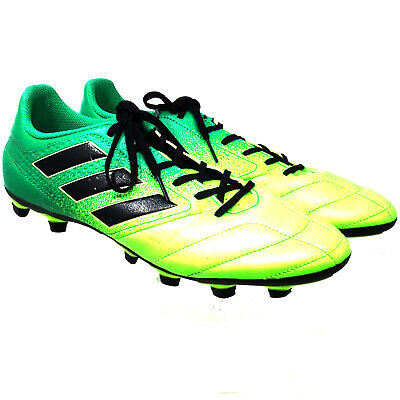 5cc3ecb133b Adidas Men s AthleticShoes Size Us10 Eur43 Green Lace Up Football Soccer  Cleats