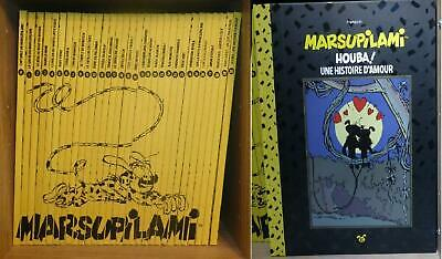 INTEGRALE MARSUPILAMI : Lot de 31 BD dos Toile - Edition Luxe - TBE