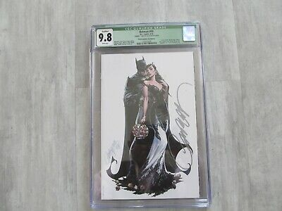 Batman #50 Campbell Cover G__CGC 9.8 SS__Signed by J Scott Campbell Catwoman