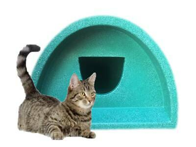 Spring Sale 49.00 Outdoor Cat Shelter / Kennel Plastic Cat House Bed Pod