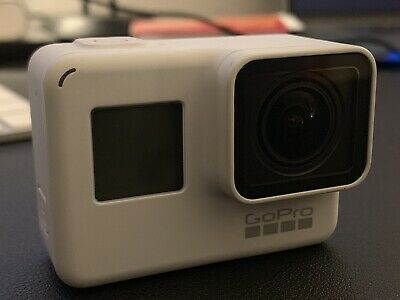 GoPro HERO7 Black Action Camera - Dusk White With 64GB SD Card And More!