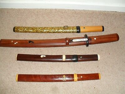 Unusual Imitation Japanese Style Sword Resting Scabbard Decorative Unique (Each)