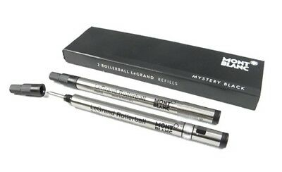 Montblanc LeGRAND 2 recharges pour rollerball LeGrand (M) Pacific Mystery Black