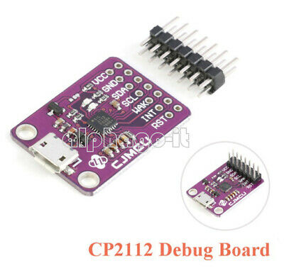 NEW CP2112 Evaluation kit for the CCS811 Debug board USB to I2C communication