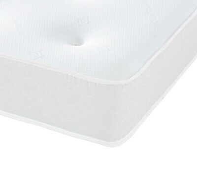Deluxe Spring Mattress - Memory Foam, Cool Blue, Dual Sided Mattresses All Sizes