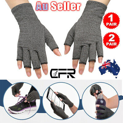 Compression Gloves Hand Wrist Support Brace Carpal Tunnel Pain Relief Arthritis