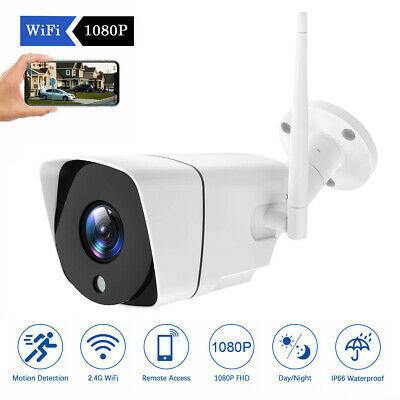 Wireless FHD 1080P WIFI IP Camera Onvif Outdoor Security IR Night Vision WebCams