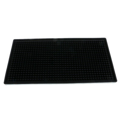 Rubber Beer Bar Service Spill Mat Waterproof PVC Mat Kitchen Tool 15 x 30cm