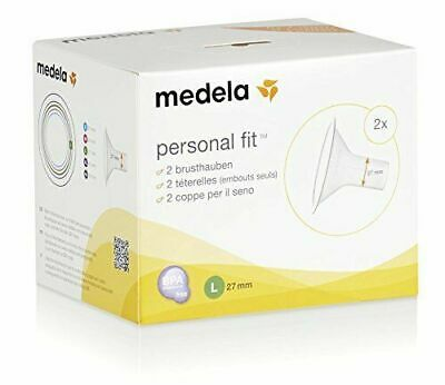 Medela PersonalFit 2 Breast Shield x2 (Large, 27 mm)  SAME DAY DISPATCH