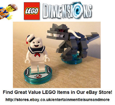 Genuine LEGO Dimensions Ghostbusters Stay Puft Marshmellow Pack 71233 - COMPLETE