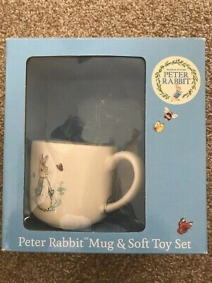 Officially Licensed Beatrix Potter Peter Rabbit Mug and Soft Toy Set NO TOY