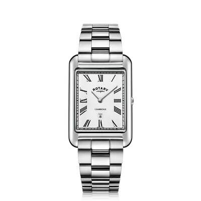 Rotary Cambridge Rectangular Watch GB05280/01 RRP £179 Our Price £134.25