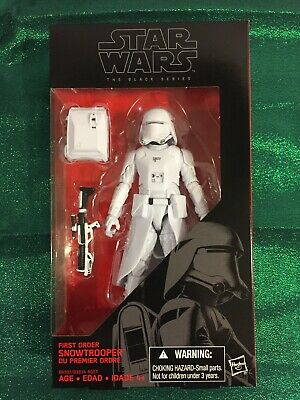 Hasbro 2016 Star Wars Black Series #12 FIRST ORDER SNOWTROOPER  6 inch Figure