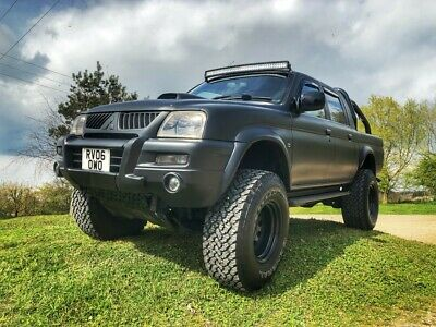 Mitsubishi L200 pick up truck 2006 2.5 Turbo Diesel manual lifted monster truck