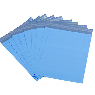 STRONG Blue Postal Postage Mailing Poly Bags ALL SIZES 100% Recyclable