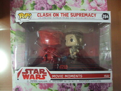 CLASH ON THE SUPREMACY (MOVIE MOMENTS) . Funko POP. Star Wars