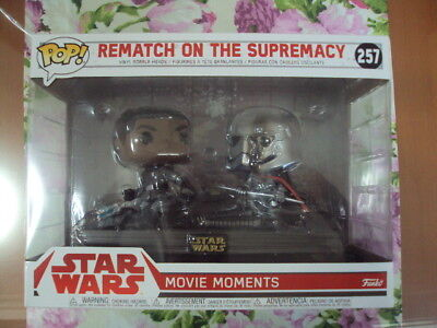REMATCH ON THE SUPREMACY (MOVIE MOMENTS) . Funko POP. Star Wars