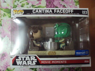 CANTINA FACEOFF (MOVIE MOMENTS) . Funko POP. Star Wars