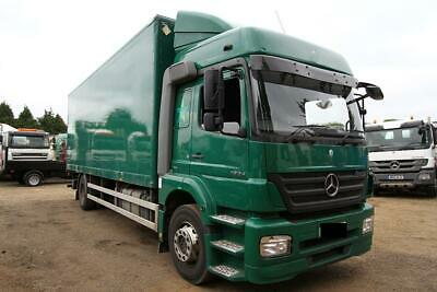 2007 57 Plate Mercedes Axor 1824 4X2 Box Truck With Tail Lift Actros Man Daf