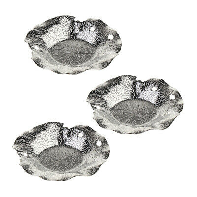 3Pcs Tea Drink Cup Saucer Plate Vintage Chinese Style Teacup Mat for Kitchen