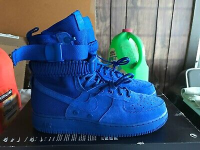 buy popular 4fe94 0c13b NEW Nike SF AF1 Special Field Air Force 1 Men Size 9 Shoes Royal Blue 864024