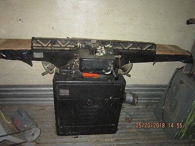 "Dayton 8"" Jointer model 5Z043 Good Condition  single phase  1.5 HP"